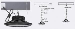 ecogreen led ufo smart installation
